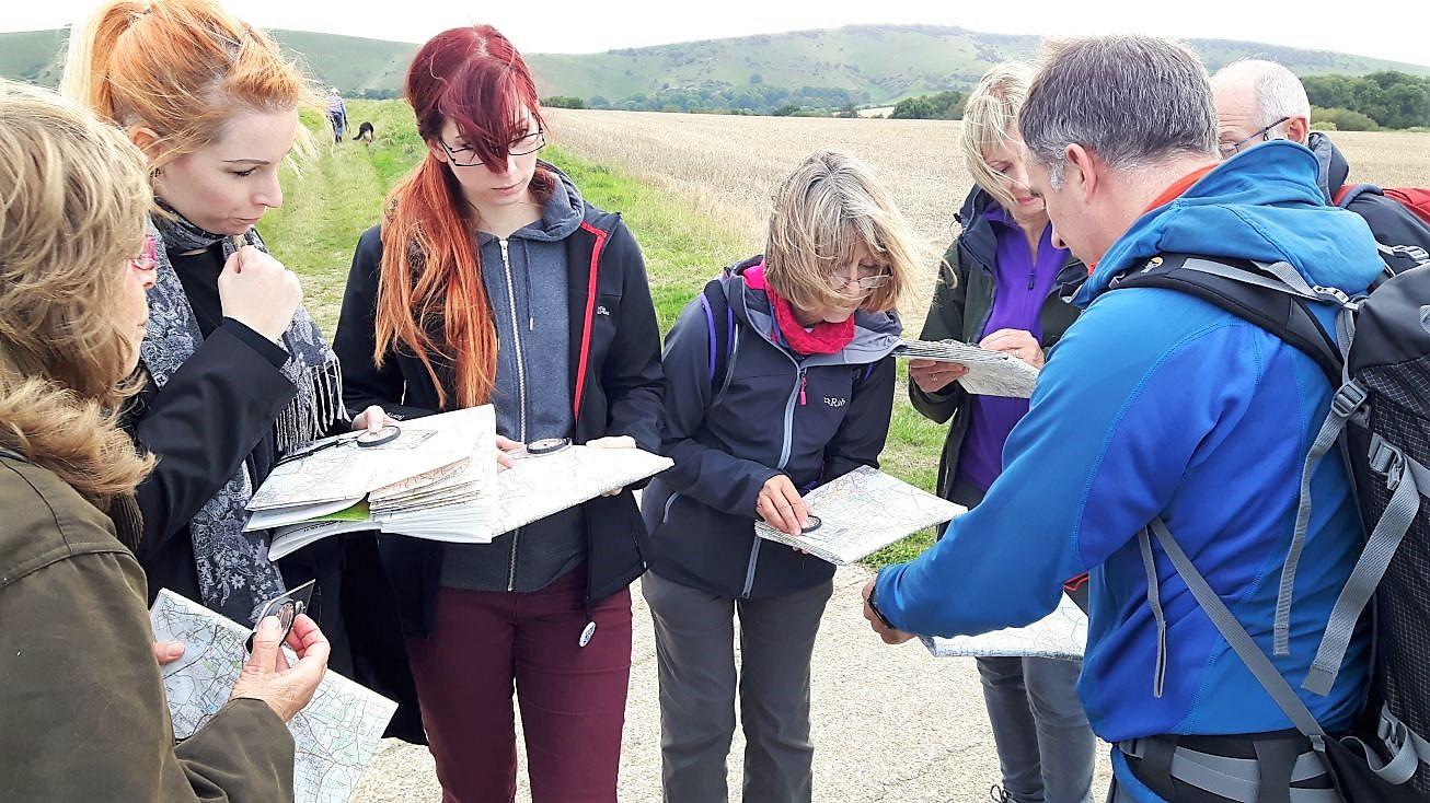 Group navigation course