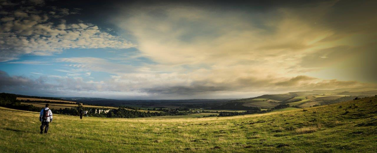 south downs view